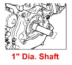 1 INCH DIA SHAFT