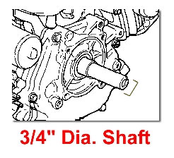 3/4 INCH DIA SHAFT