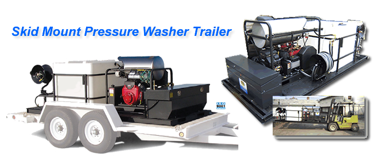 Skid Mount Trailers Ets Company Pressure Washers And More