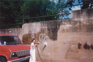 Contractors Graffiti Removal